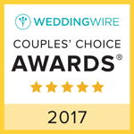 Wedding Wire Couple's Choise Awards 2017